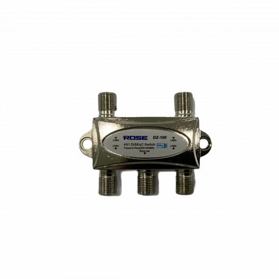 Rose Dz-100 4x1 Diseqc Switch